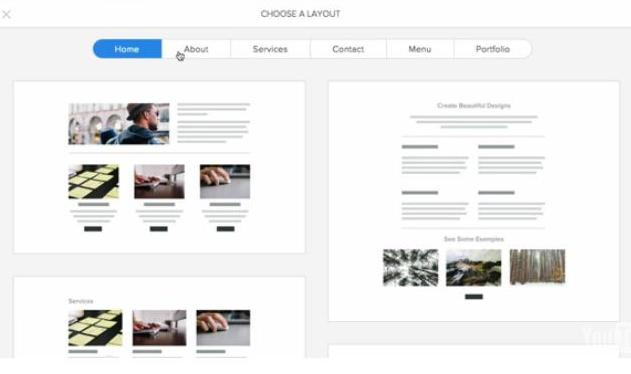 Page Layout helps you design website pages