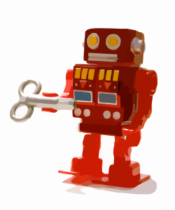 toy search robot