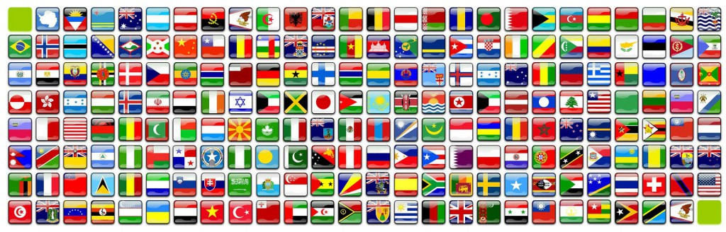 Top Level Domain country codes
